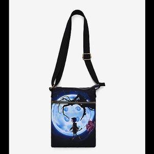Loungefly Coraline Button moon passport  bag